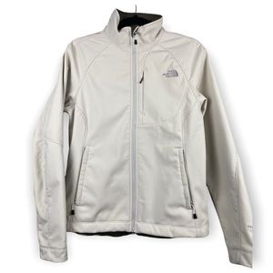 The North Face Off White Women's Apex Jacket Sz M